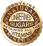 Contains Unrefined Sugars
