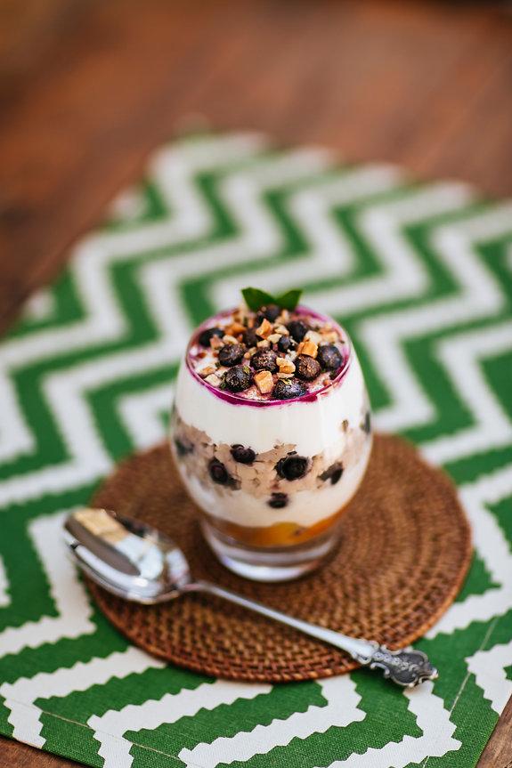 Apple Berry Oats Breakfast Dessert with CocoVelle