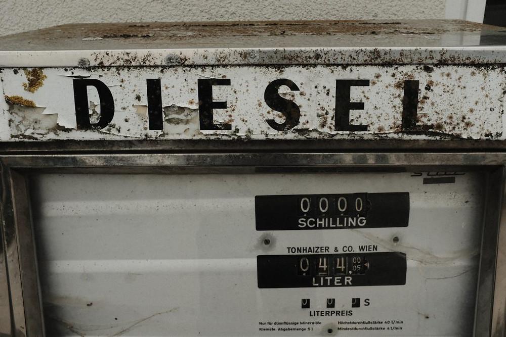diesel tank old
