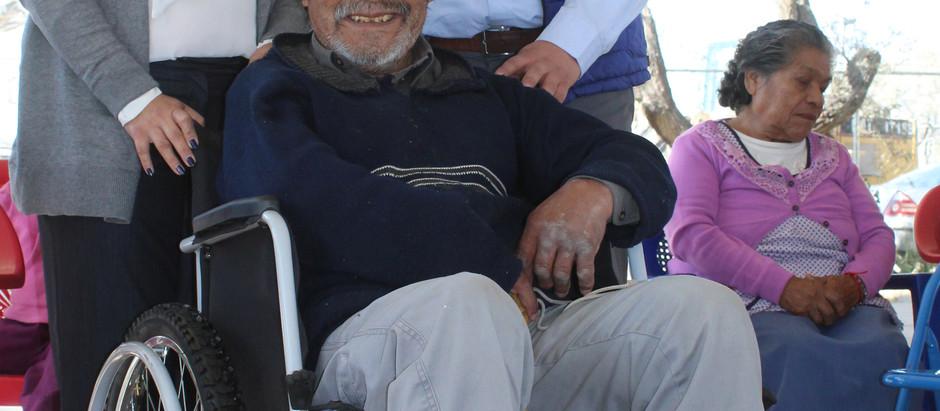 Arranca entrega de aparatos ortopédicos para Adultos Mayores de El Marqués.