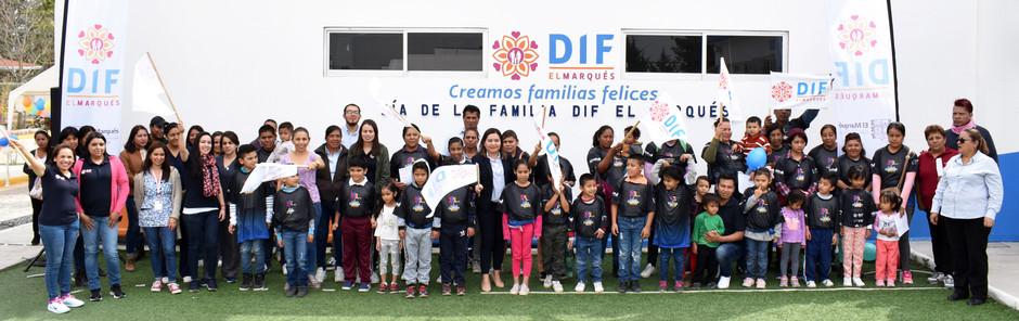 SEGUNDO RALLY DE LA FAMILIA EN EL DIF DE EL MARQUÉS