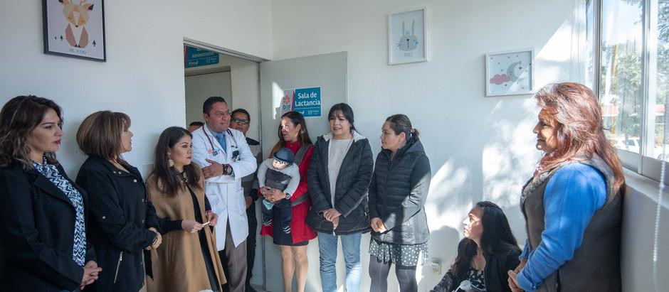 Se inaugura la primera sala de Lactancia Materna en el Municipio de El Marqués.