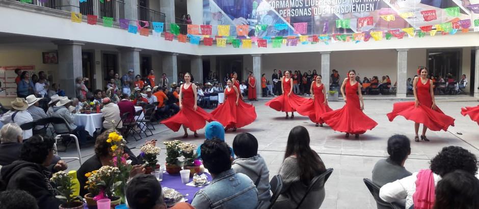 Convivencia de las y los Adultos Mayores de algunas comunidades de El Marqués con estudiantes