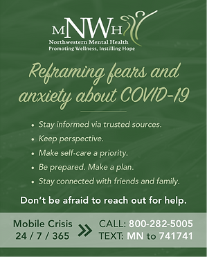 Reframing fears & anxiety about COVID-19