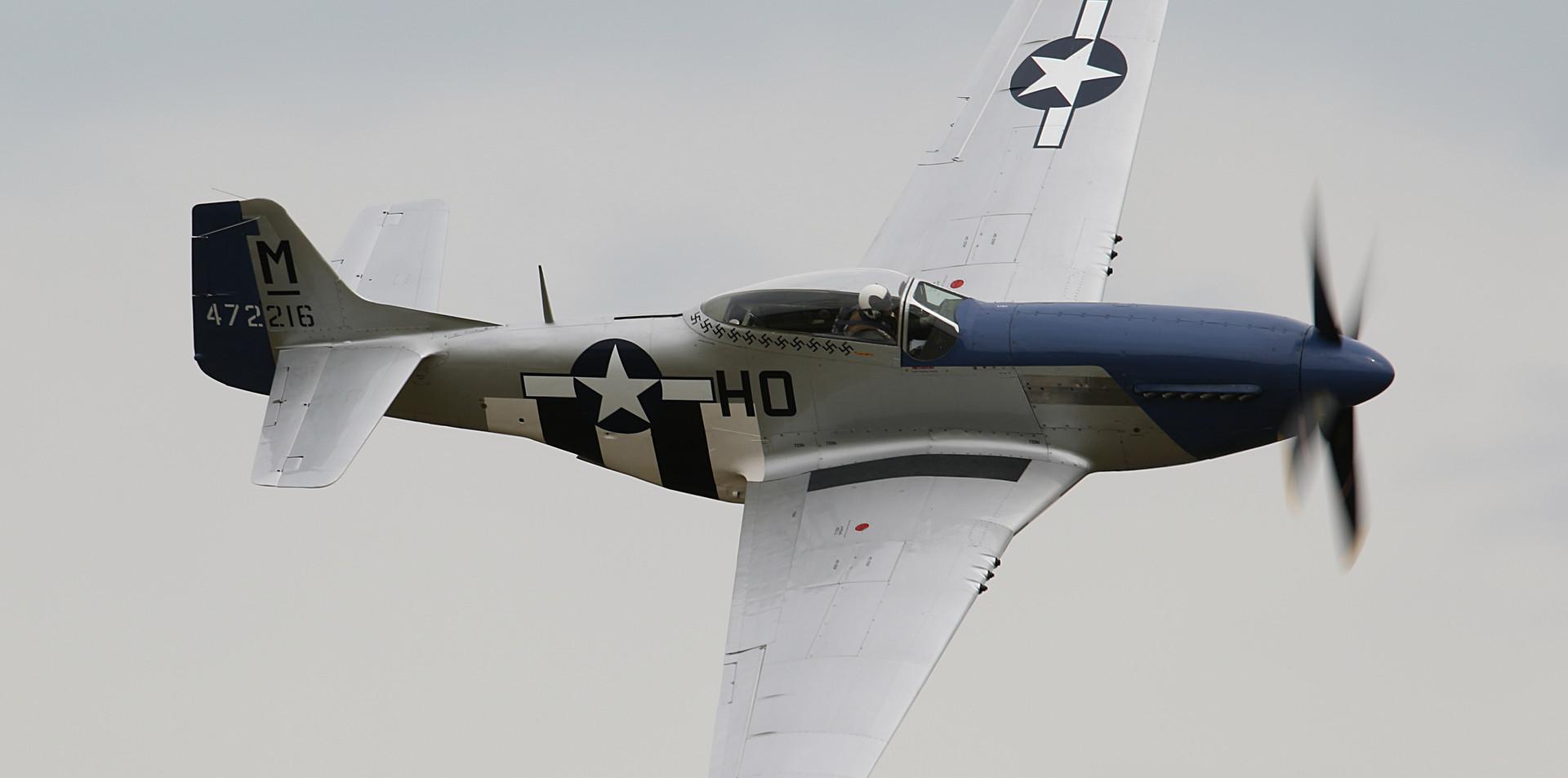 P-51 Mustang Daks over Duxford June 2019