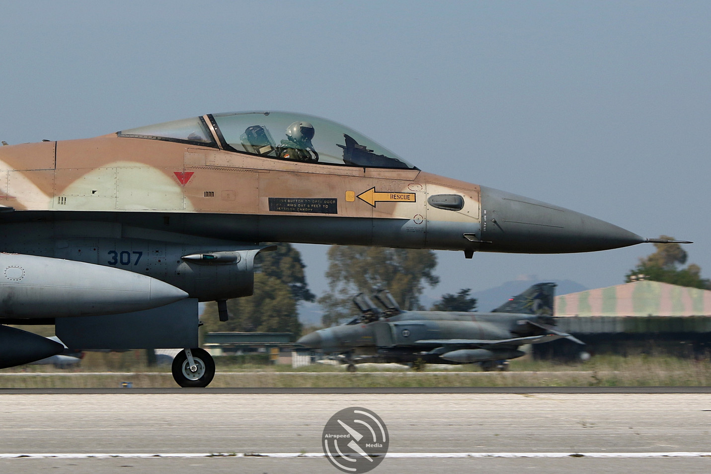 Israeli Air Force F-16 Andravida Iniocho