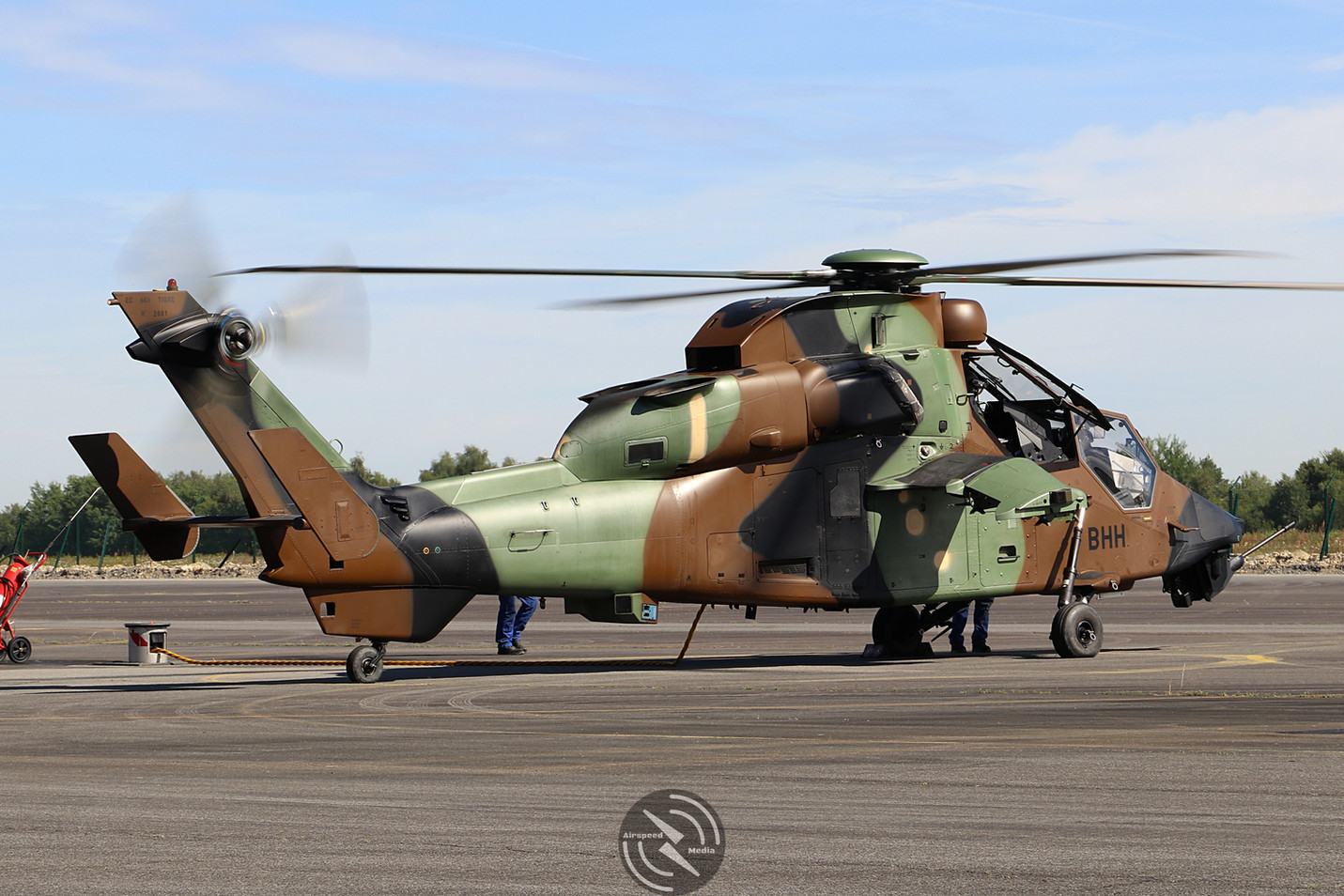 Eurocopter Tigre ALAT 5th Regiment Pau M