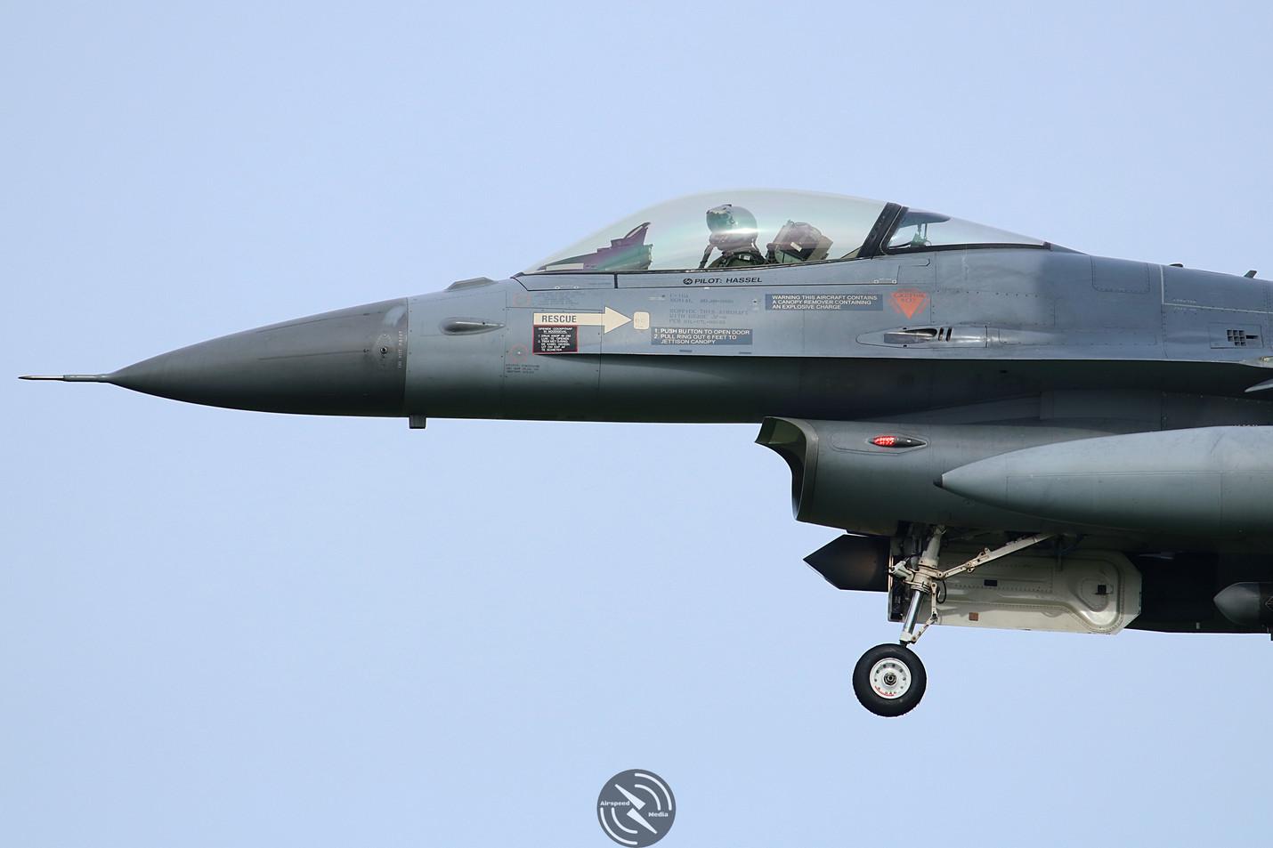 Royal Netherlands Air Force F16 Frisian