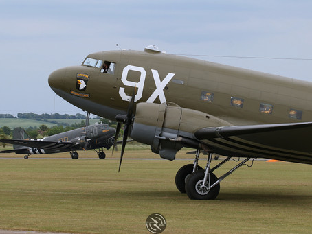 Daks over Duxford: D-day 75th anniversary