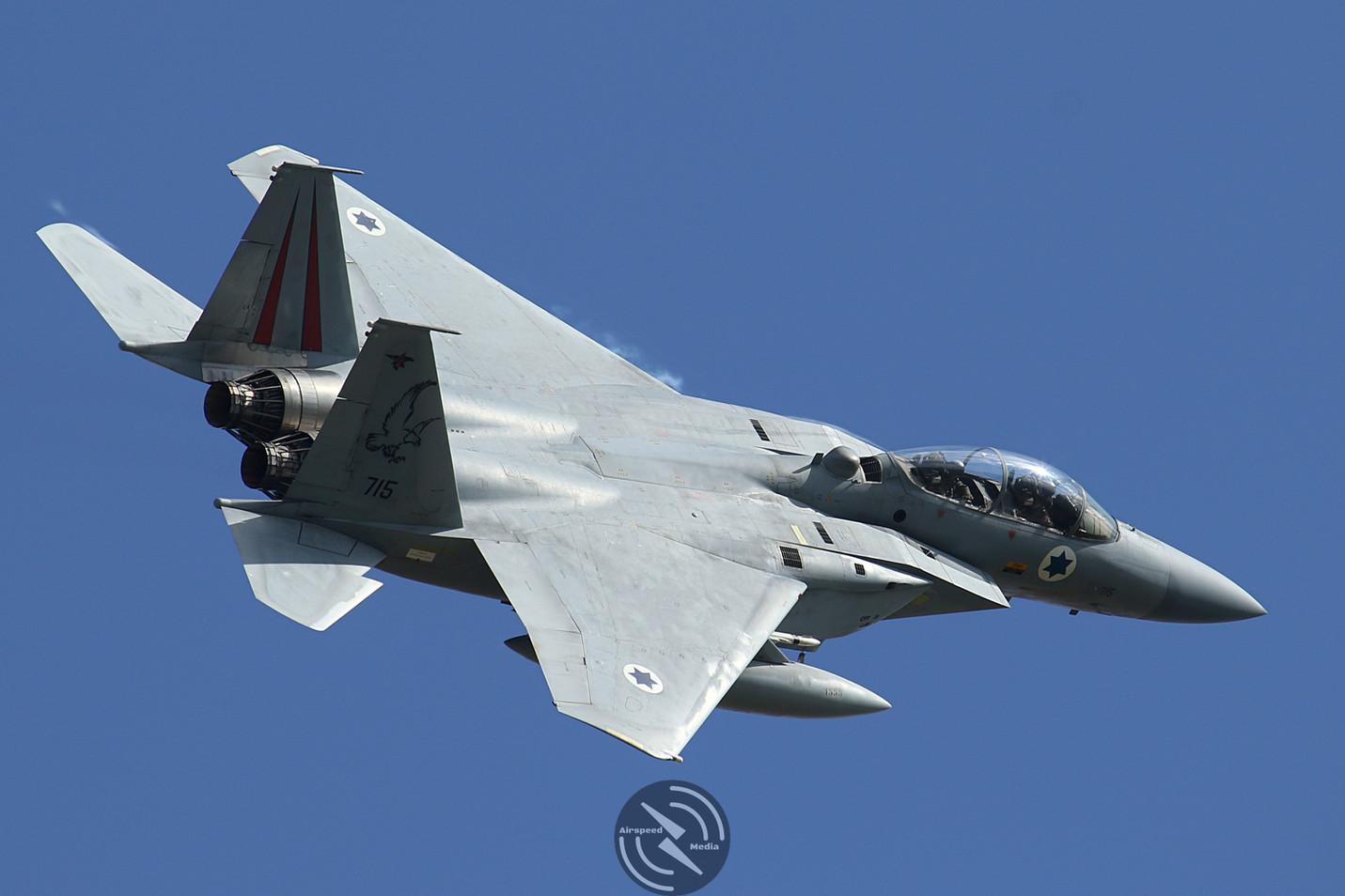 Israeli Air Force F-15 Cobra Warrior 201