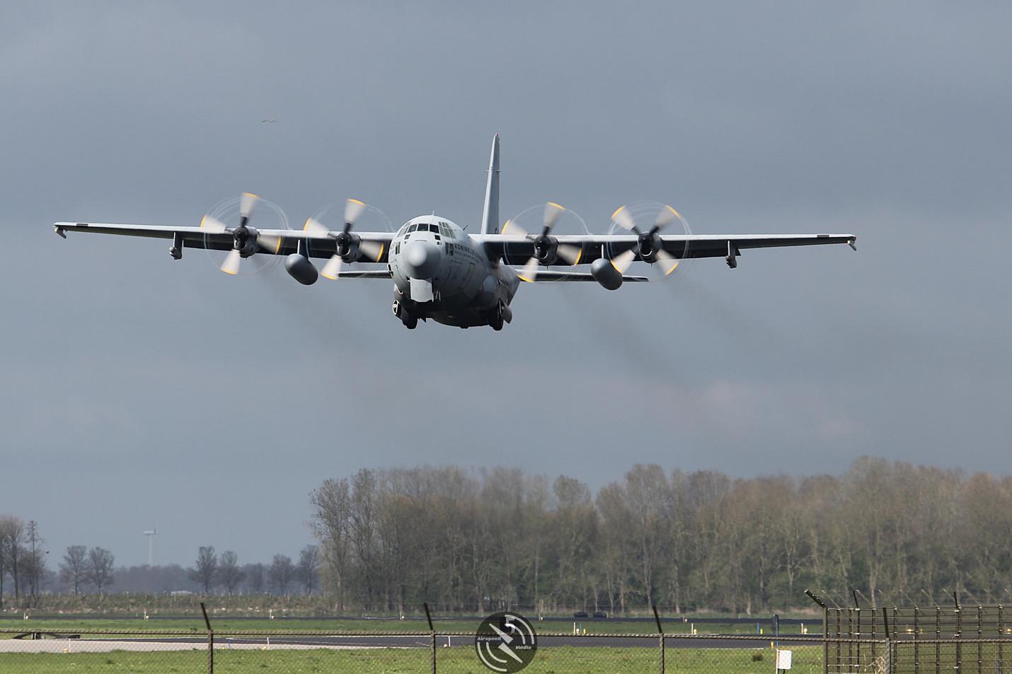 Royal Netherlands Air Force C130 Frisian