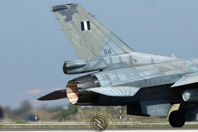 Hellenic F-16 Andravida Iniochos 2019 (2
