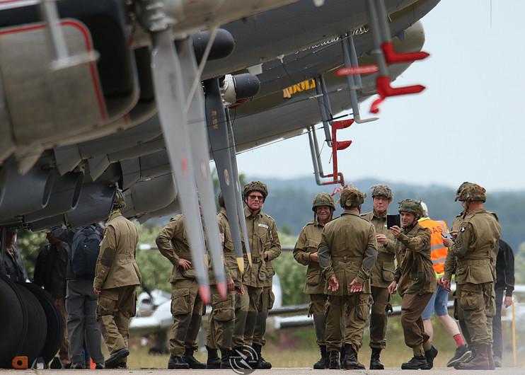 Paratroopers Daks over Duxford June 2019