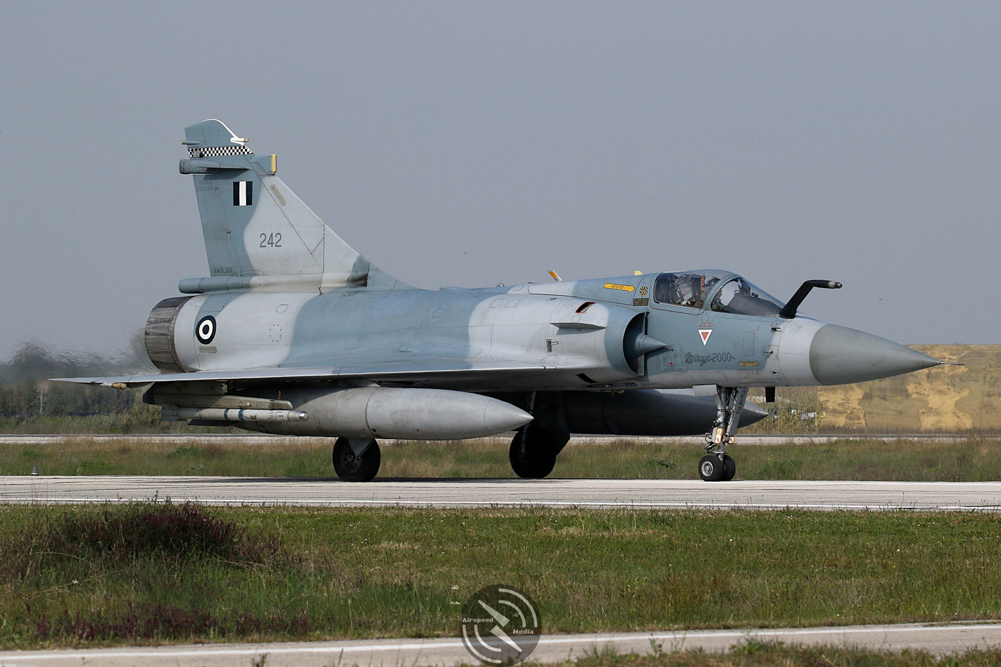 Hellenic Air Force Mirage 2000 Andravida