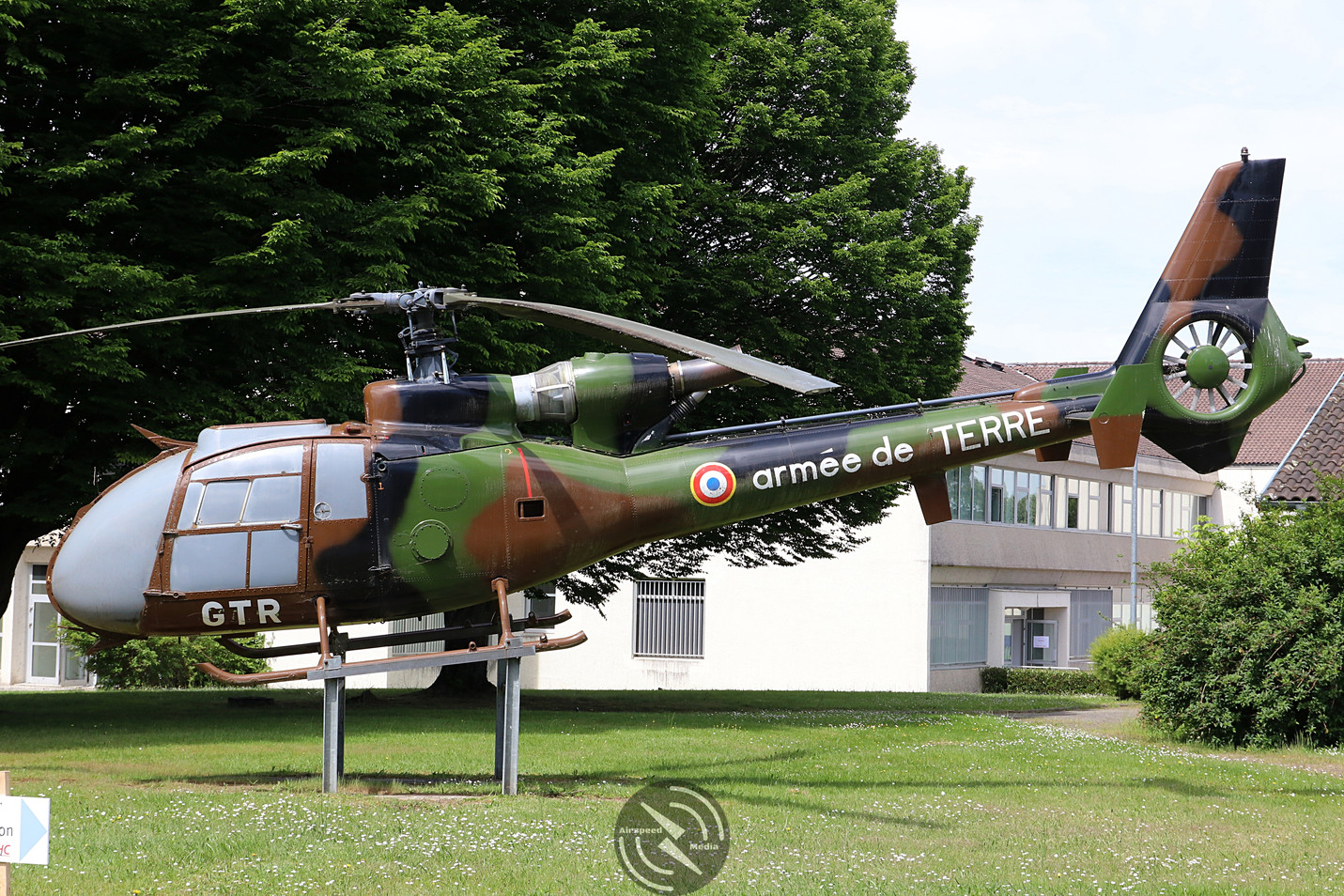 Gazelle GG ALAT 5th Regiment Pau May 201