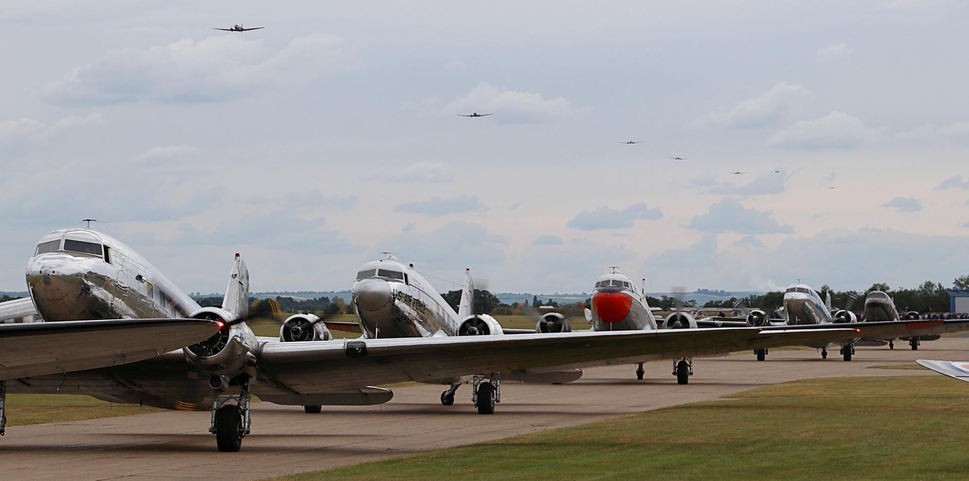Departure Daks over Duxford June 2019 (3