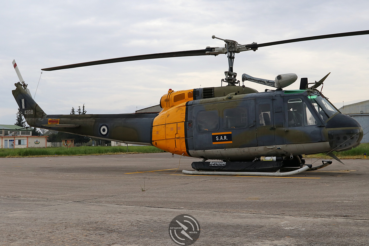 Hellenic Air Force AB205 Kalamata 2019 (