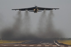 B-52 Smokey departure