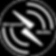 Airspeed Media Logo White on Black circl