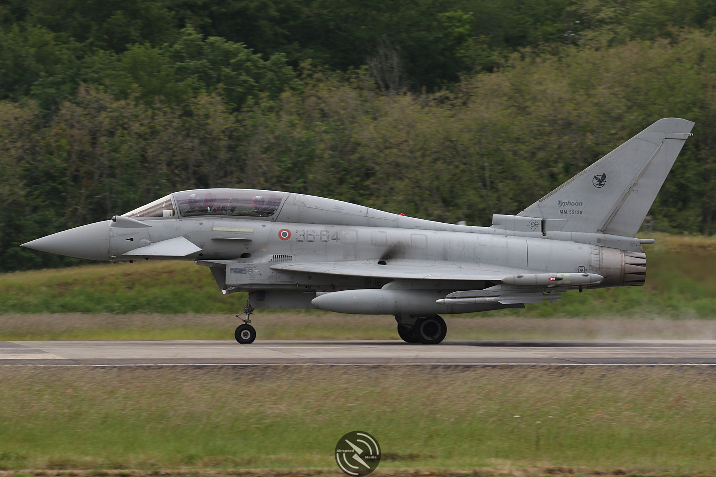 AMI EF2000 Typhoon NATO Tiger Meet 2019