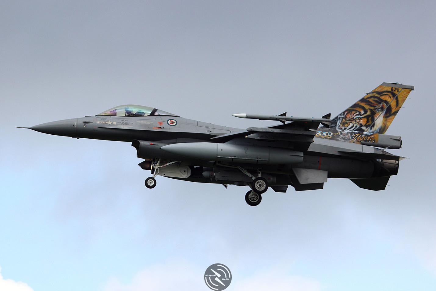 Royal Norweigen Air Force F16 Frisian Fl