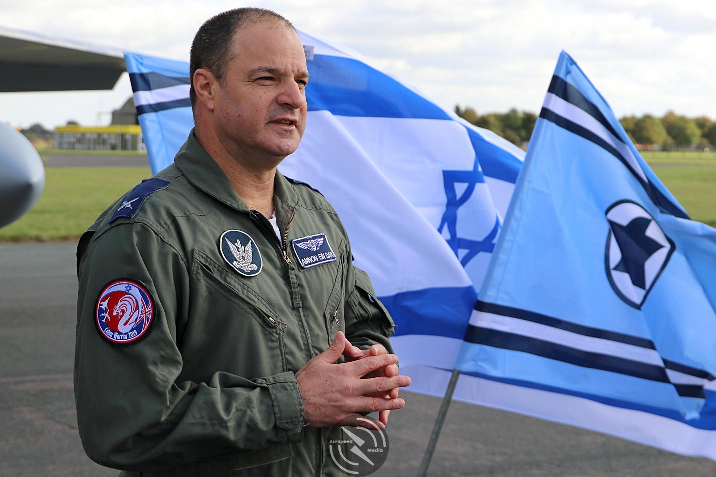 Brigadier General Amnon Ein-Dar Cobra Wa
