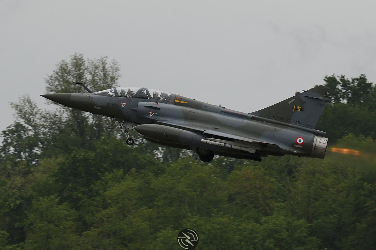 AdlA Mirage 2000D NATO Tiger Meet 2019 (