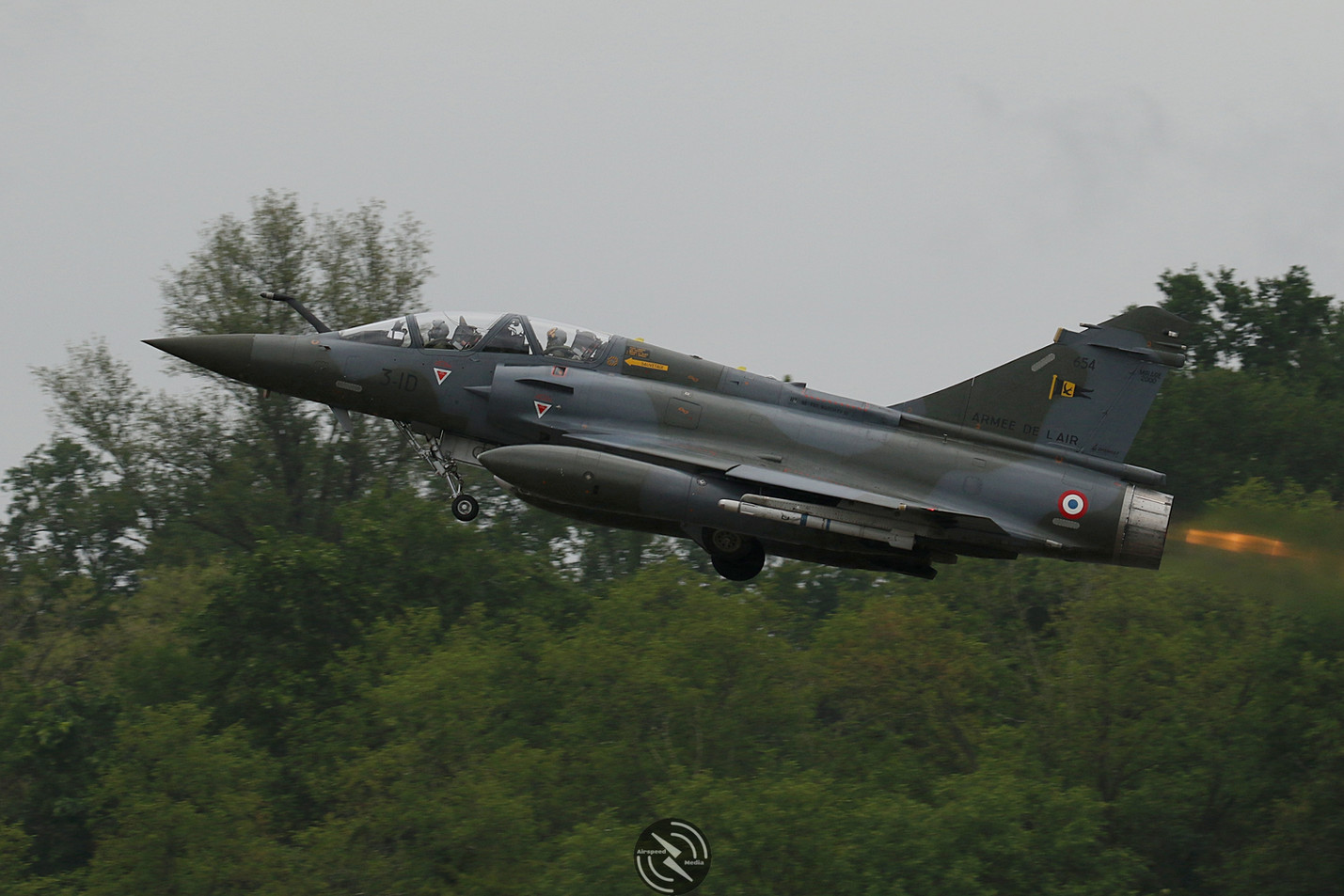 AdlA Mirage 2000D NATO Tiger Meet 2019 (