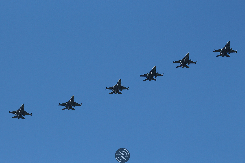 Belgian Air Component F16 Frisian Flag (