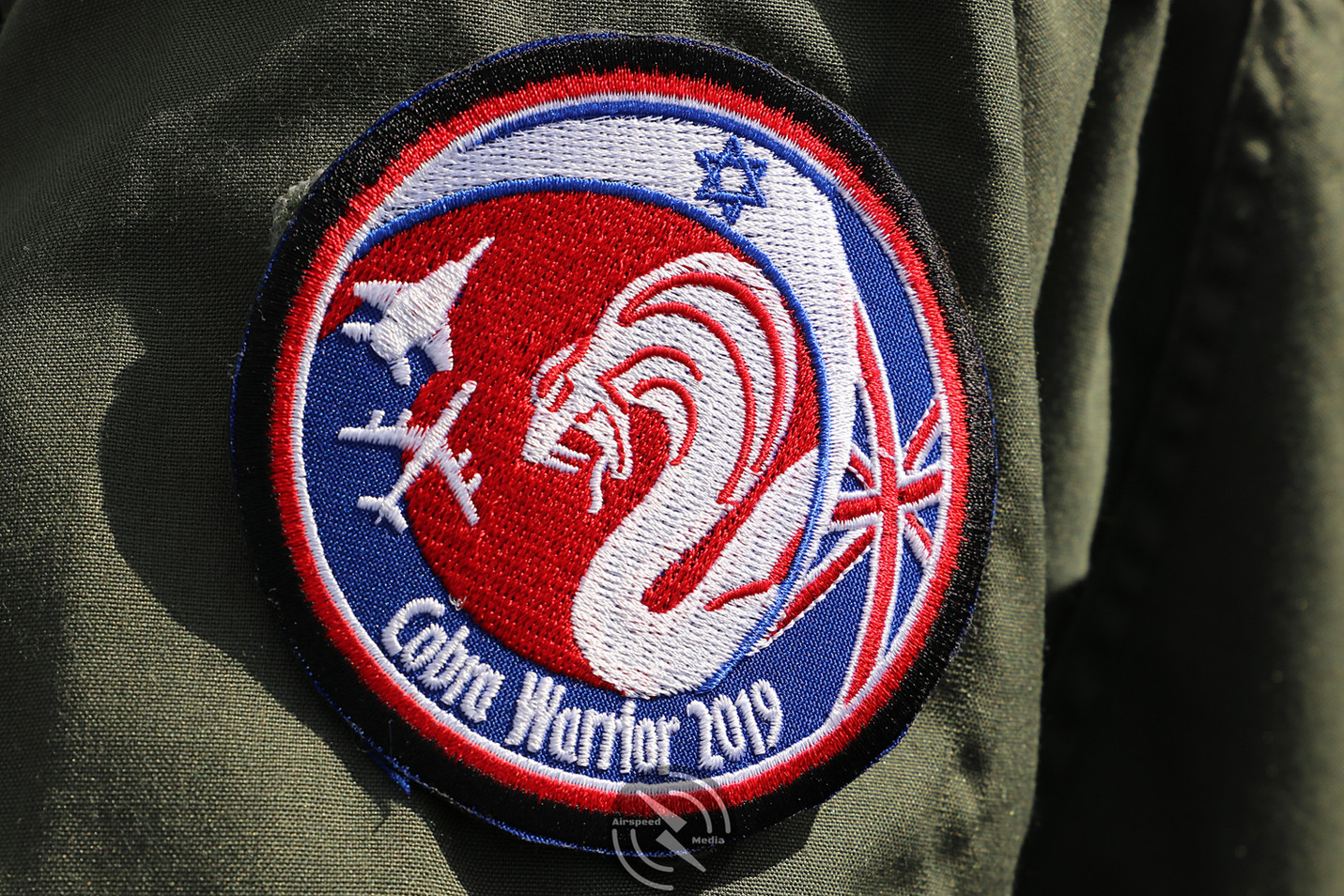 Israeli Air Force Cobra Warrior patch 20