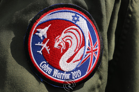 Israeli Air Force Cobra Warrior patch 20