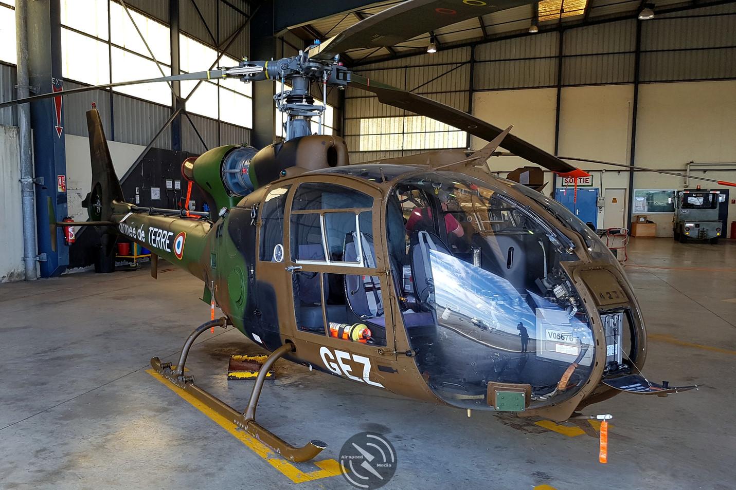 Gazelle ALAT 5th Regiment Pau May 2019