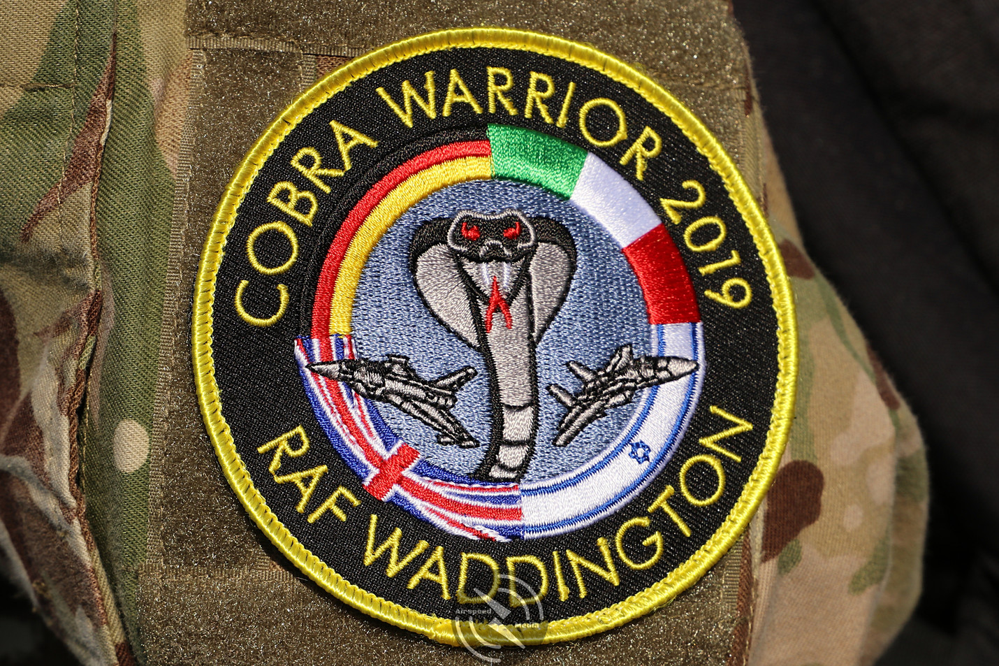 RAF Cobra Warrior patch 2019 (38).JPG