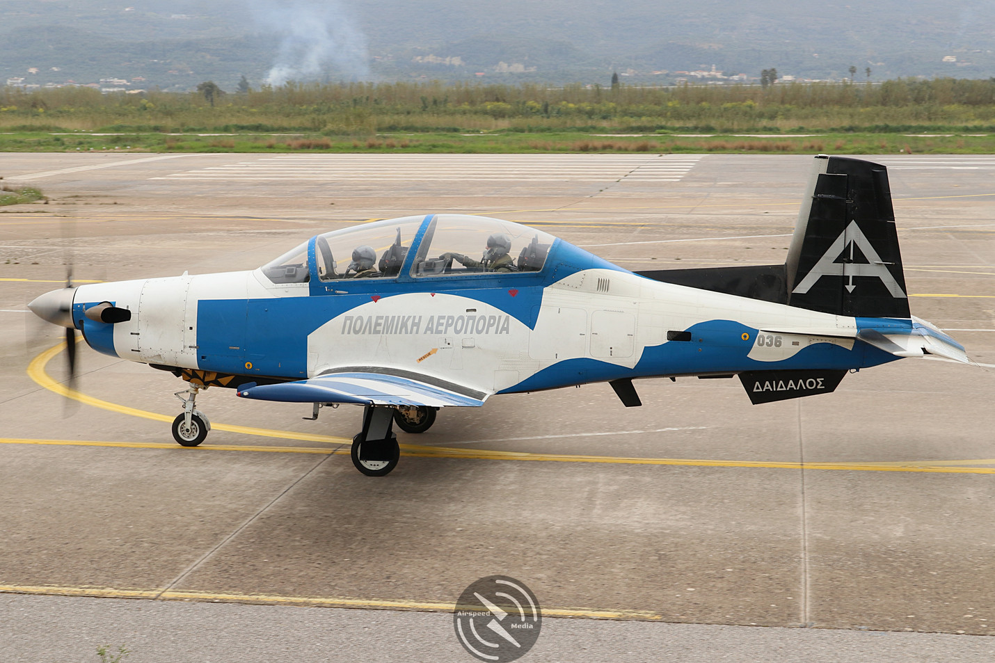 Hellenic Air Force T-6 Texan II Kalamata