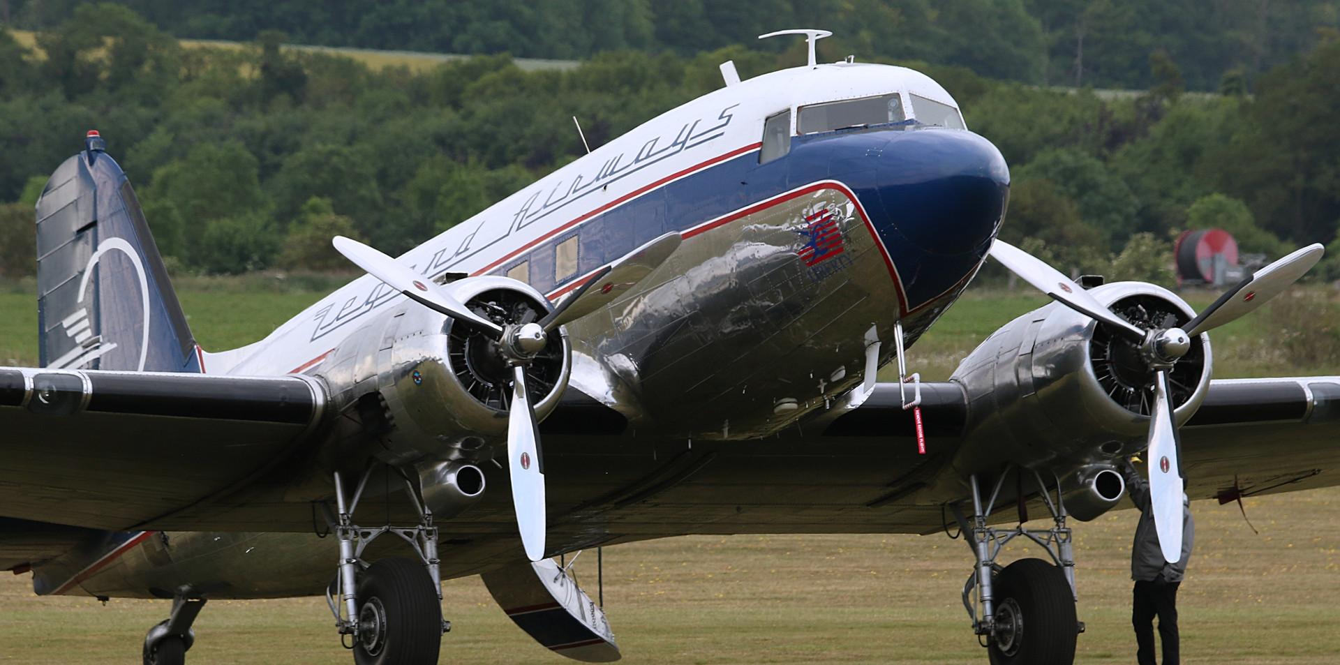 Legend Airways Daks over Duxford June 20