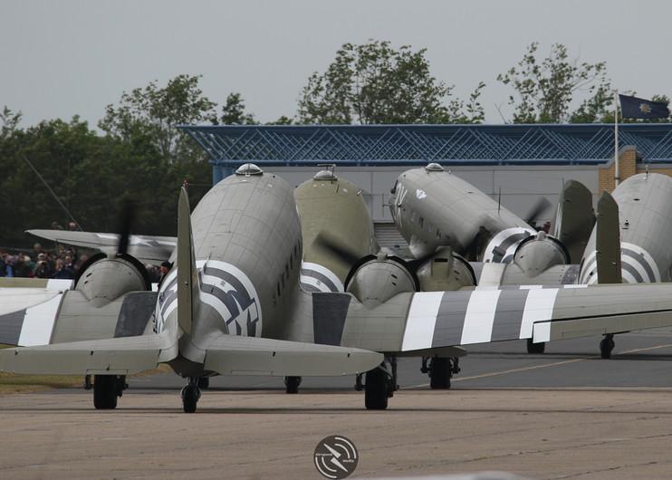 D-Day departure Daks over Duxford June 2