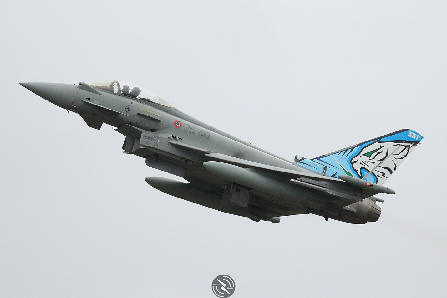AMI EF2000 Typhoon NATO Tiger Meet 2019