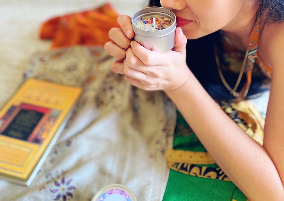 Cardamom Rose Massage Candle