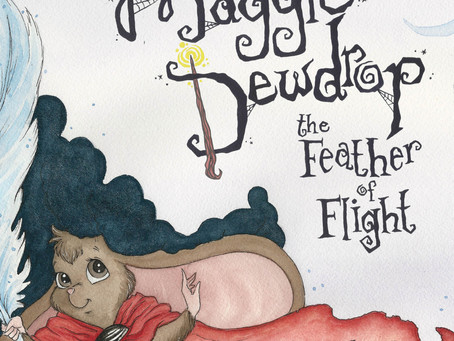 """Follow The Adopted Mouse Raised by Bats in """"Maggie Dewdrop: The Feather Of Flight"""" By G. Wayne Mello"""