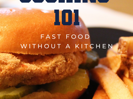 """""""College Cooking 101: Fast Food Without a Kitchen"""" by Sarah H. Long"""