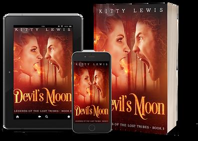 Devil's Moon Paperback Book