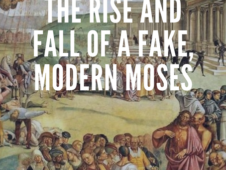 """""""The Gospel Of Louis: The Rise And Fall Of A Fake, Modern Moses"""" Available Worldwide August 2, 2019"""