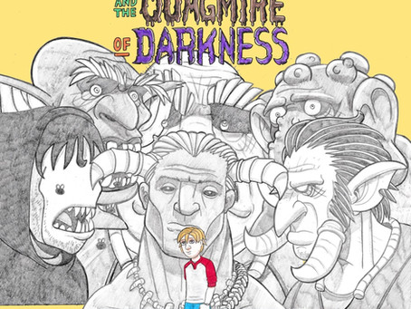 """Battle Beasts and Monsters In The New Audiobook """"Franklin Hobbs and the Quagmire of Darkness"""""""