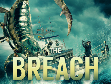 """A Hurricane Unleashes A Monstrosity From The Past In """"The Breach"""" by Author Edward J. McFadden III"""