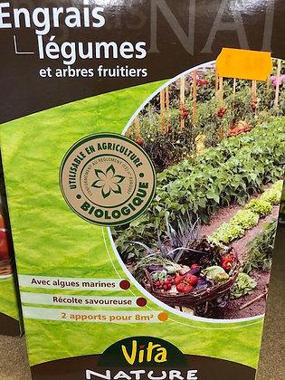 Engrais légumes et arbres fruitiers 800gr