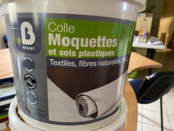 Colle Moquette et sols plastiques