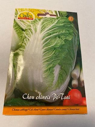 Semence Chou chinois Pe-Tsai