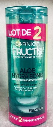 Lot de 2 Shampooings aloe hydra bomb Garnier Aloe Hydra Bomb
