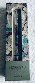 Coffret stylo bille bleu Morris&Co