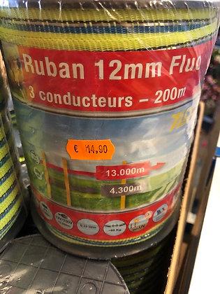 Ruban pour clôture 12mm x 200m